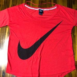 Red Nike Longsleeve